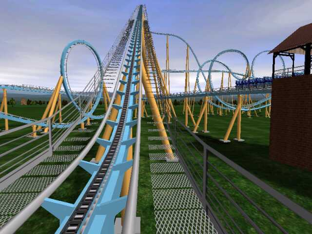 NoLimits Roller Coaster Simulation RCTgo