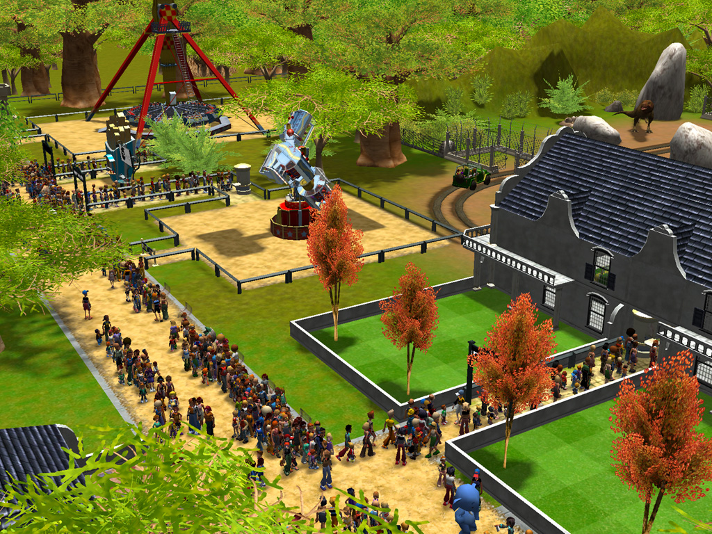 RollerCoaster Tycoon 3: Platinum | macgamestore.com
