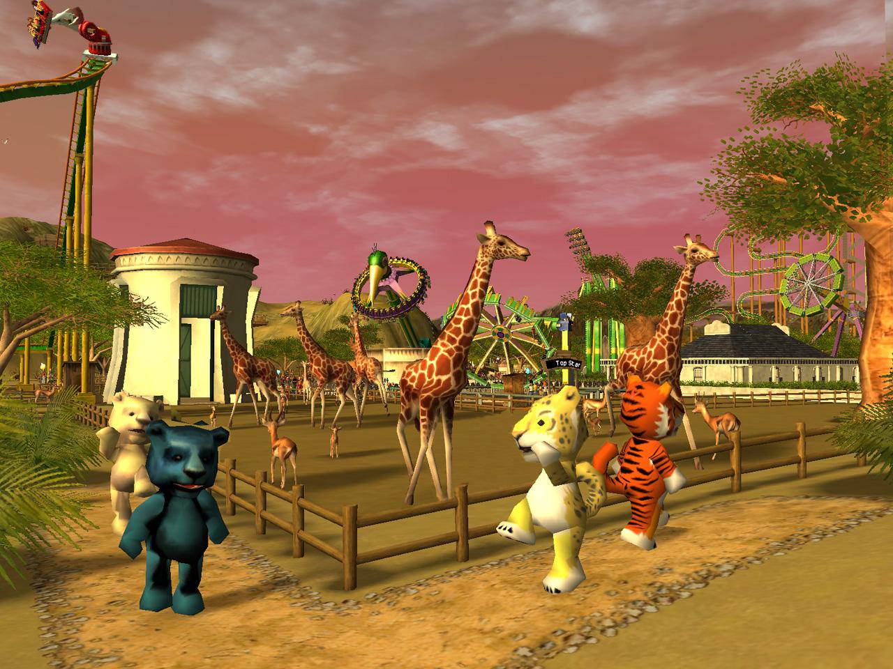 RollerCoaster Tycoon 3: Wild! - RCTgo