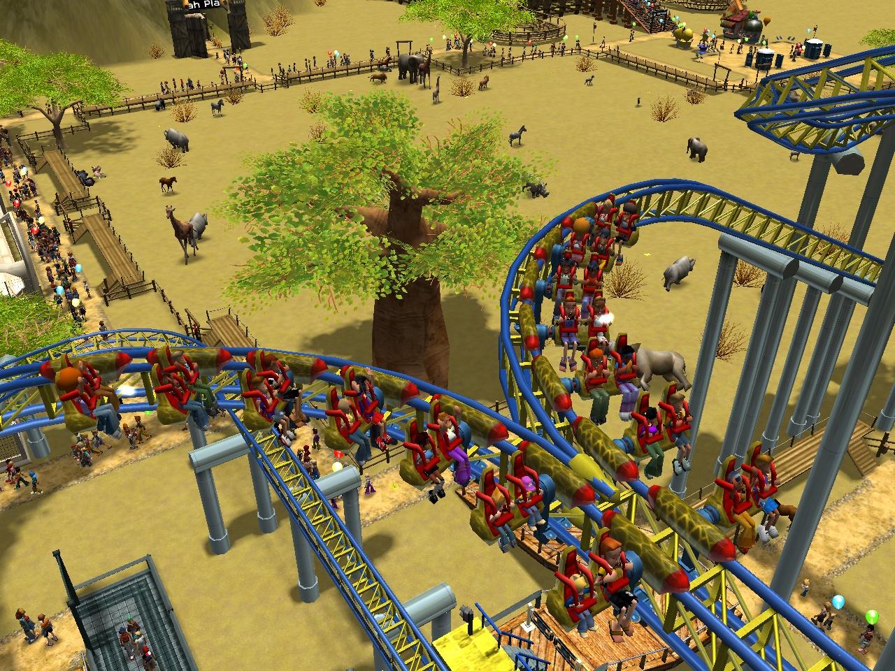roller coaster games
