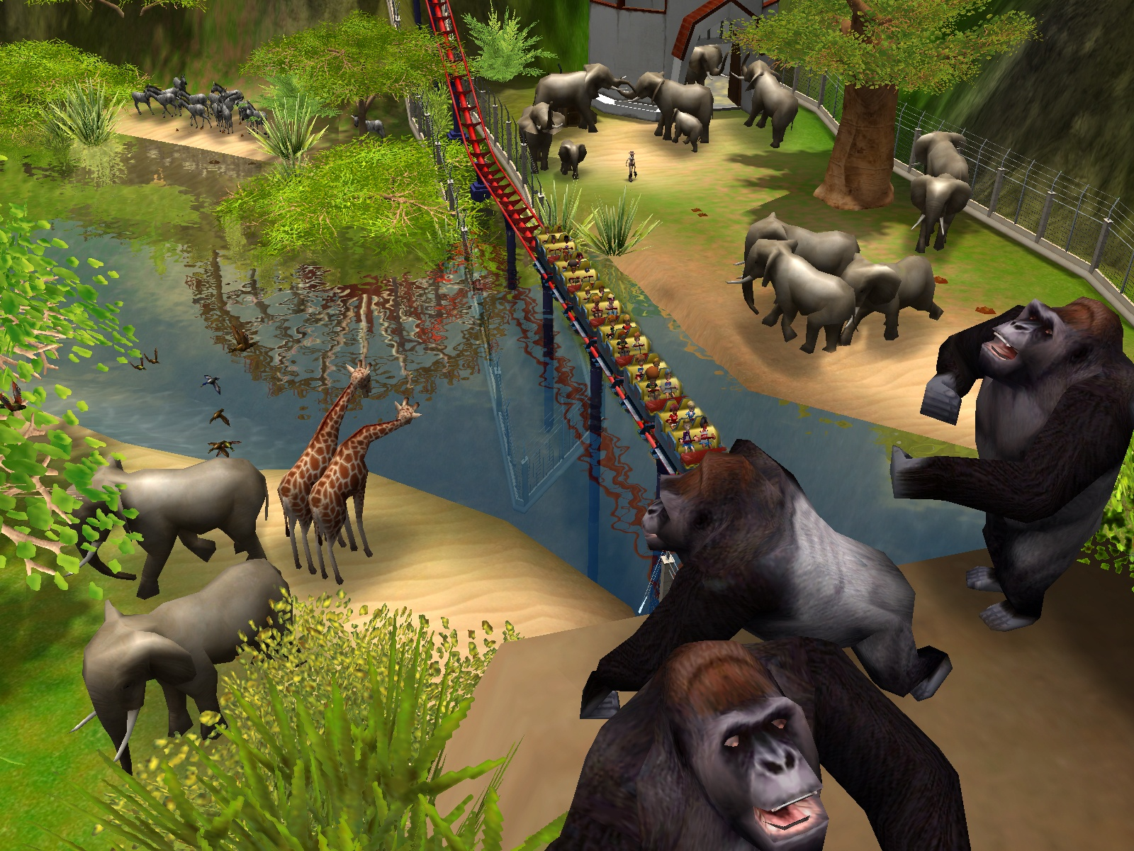 16 best Rollercoaster tycoon 3 images on Pinterest | Rollers ...